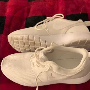 Nike tennis shoes size 4.5 Y. Almost new